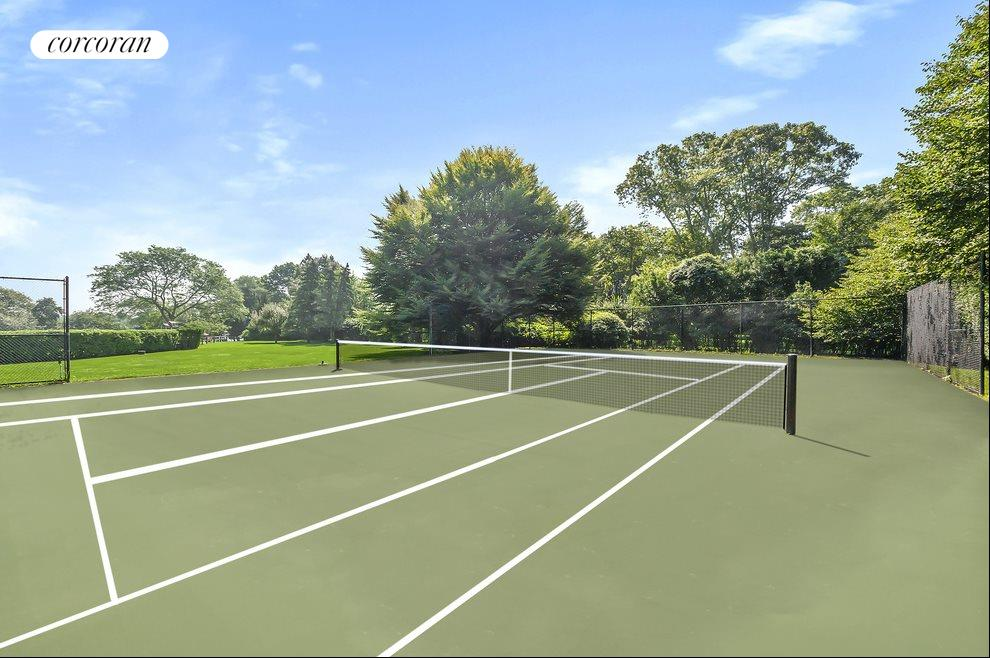 363 Sagaponack Road - Tennis Court