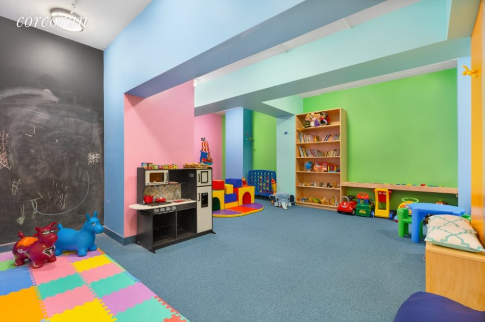 Colonnade 57 Apartment Building | View 347 West 57th Street | PlayRoom in the building