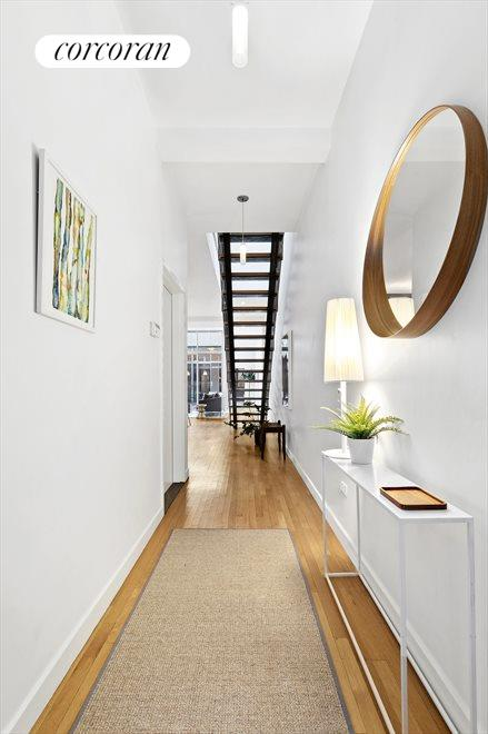 The floating stair.