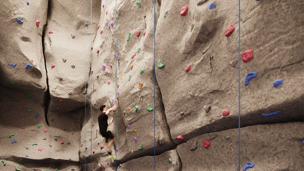 30-Foot Rock Climbing Wall