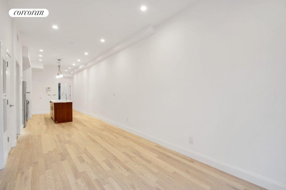 Spacious, bright and new hardwood floors