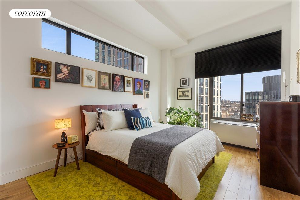 New York City Real Estate | View 96 Rockwell Place, #11C | Master Bedroom
