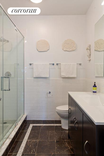New York City Real Estate | View 96 Rockwell Place, #11C | Master Bathroom
