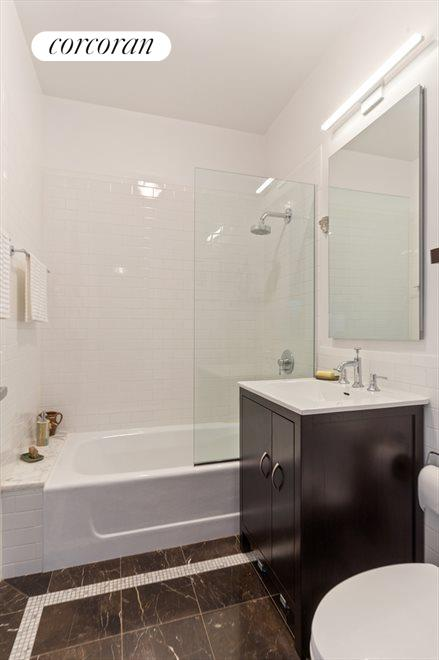 New York City Real Estate | View 96 Rockwell Place, #11C | Main Bathroom