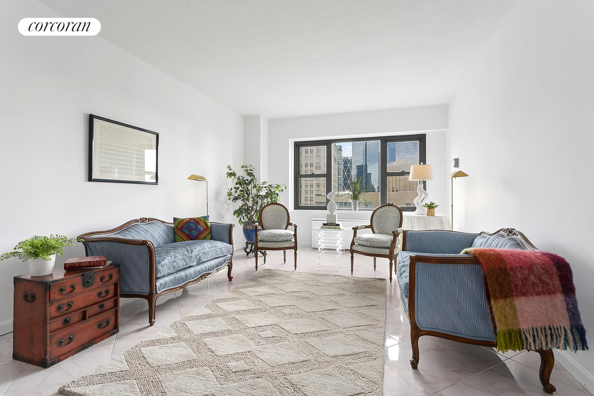 20 West 64th Street, 33T, Living Room