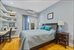 231 Bay Ridge Parkway, 1B, Master bed with access to balcony
