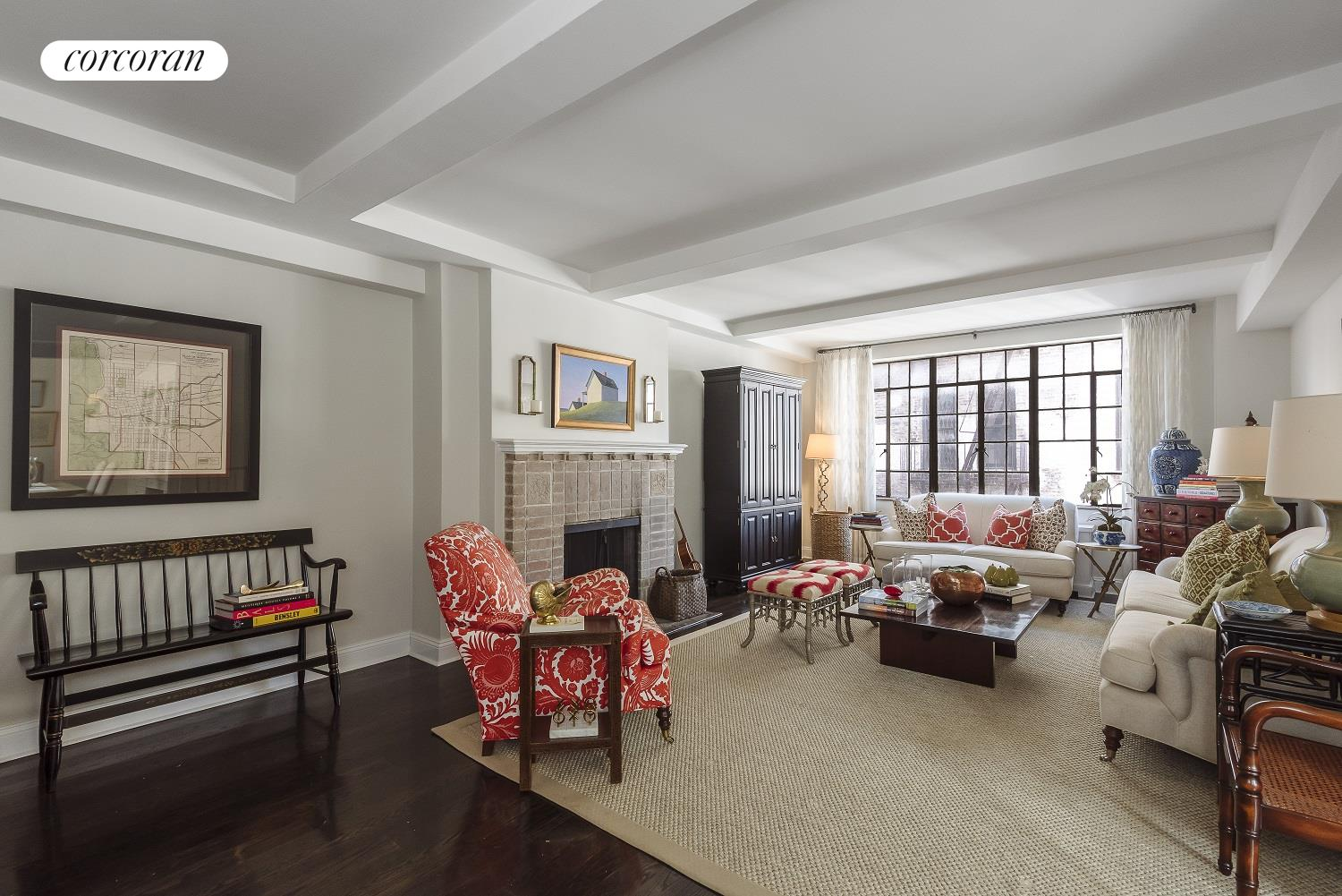 61 West 9th Street, 7C, Living Room