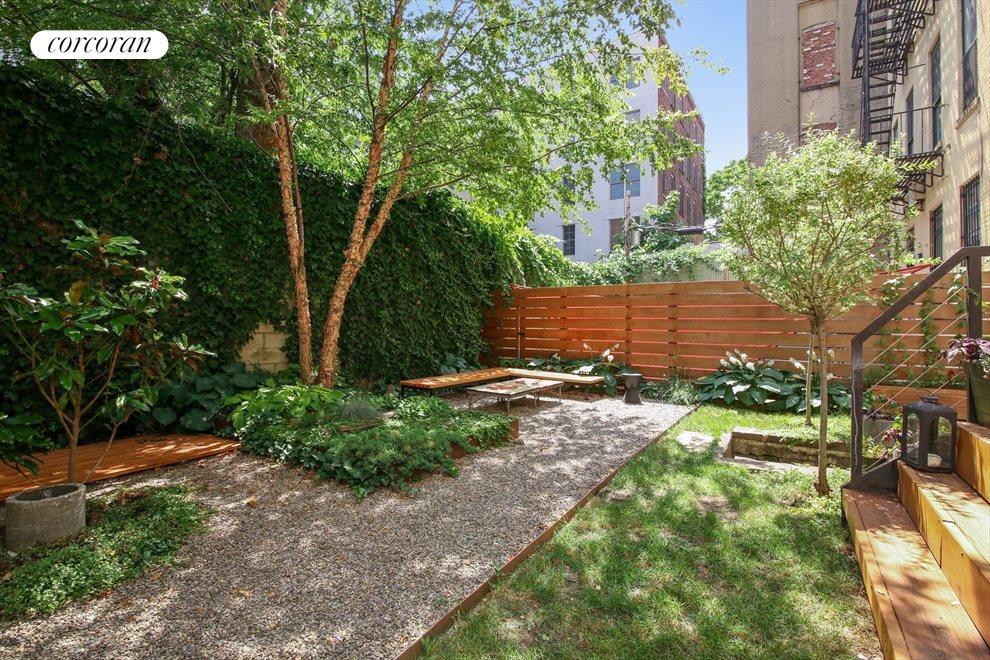 Lush Private Garden