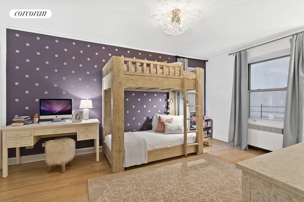 Oversized second bedroom