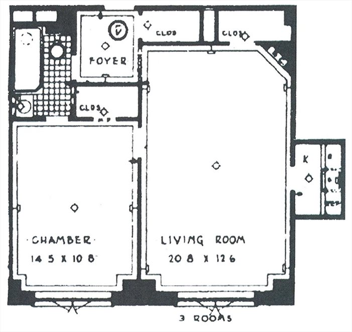 New York City Real Estate | View Irving Place | Floorplan 3