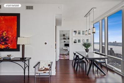 New York City Real Estate | View 245 West 99th Street, #28A | Dining and 4th bedroom