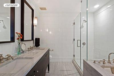 New York City Real Estate | View 245 West 99th Street, #28A | Master Bathroom