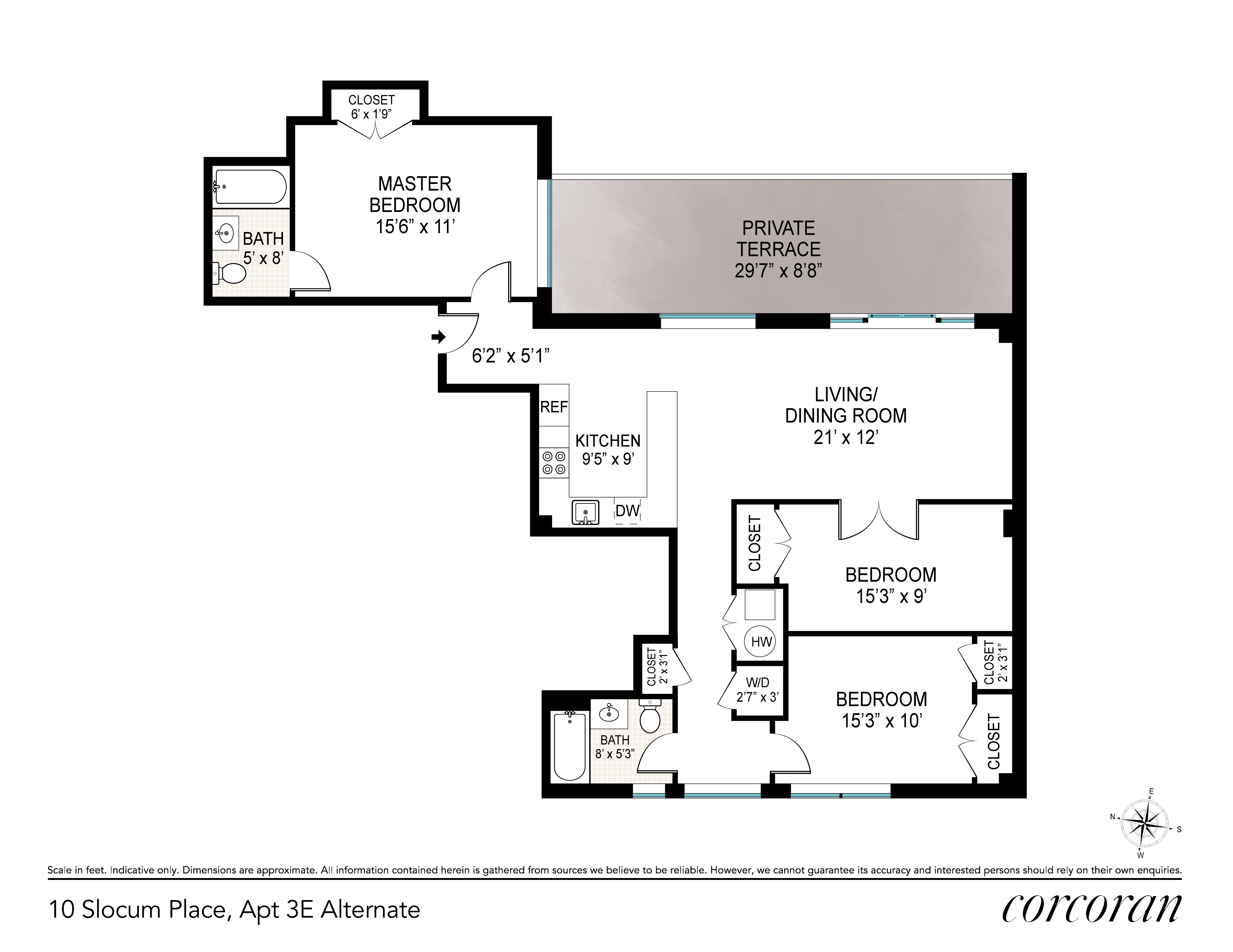 Alternate 3rd Bedroom Plan