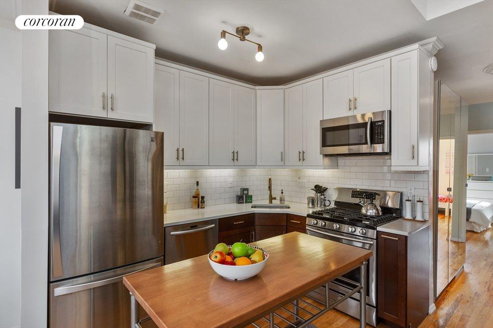 New York City Real Estate | View 474 Waverly Avenue, #3 | Renovated Kitchen