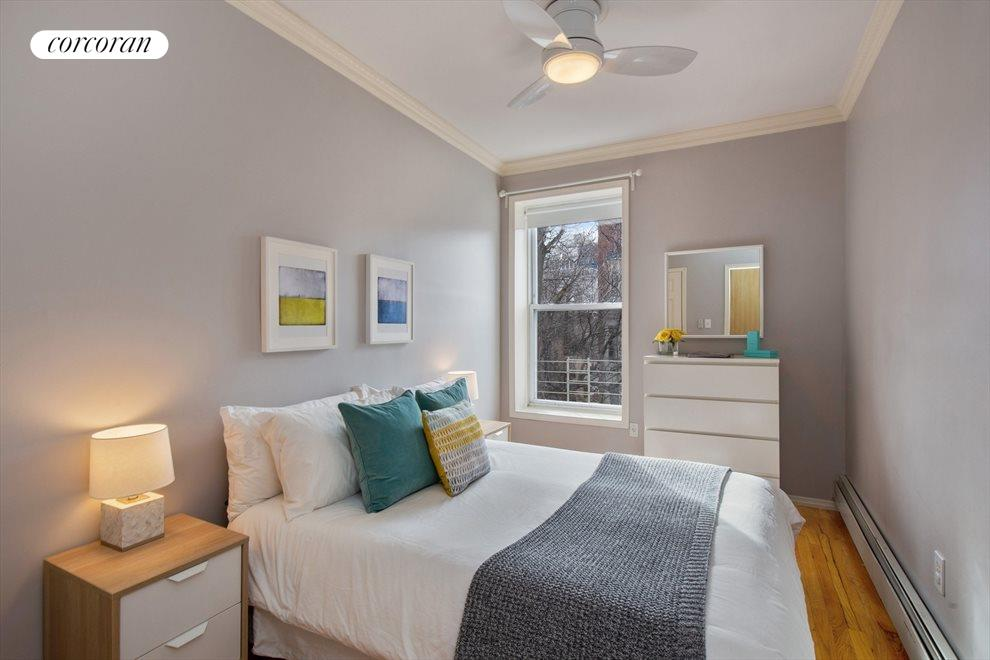 New York City Real Estate | View 474 Waverly Avenue, #3 | Master Bedroom