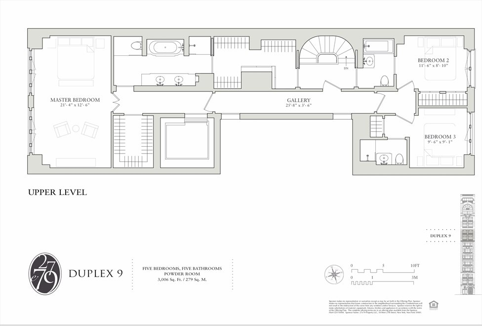 New York City Real Estate | View 27 East 79th Street, #9/10 | Floorplan 2