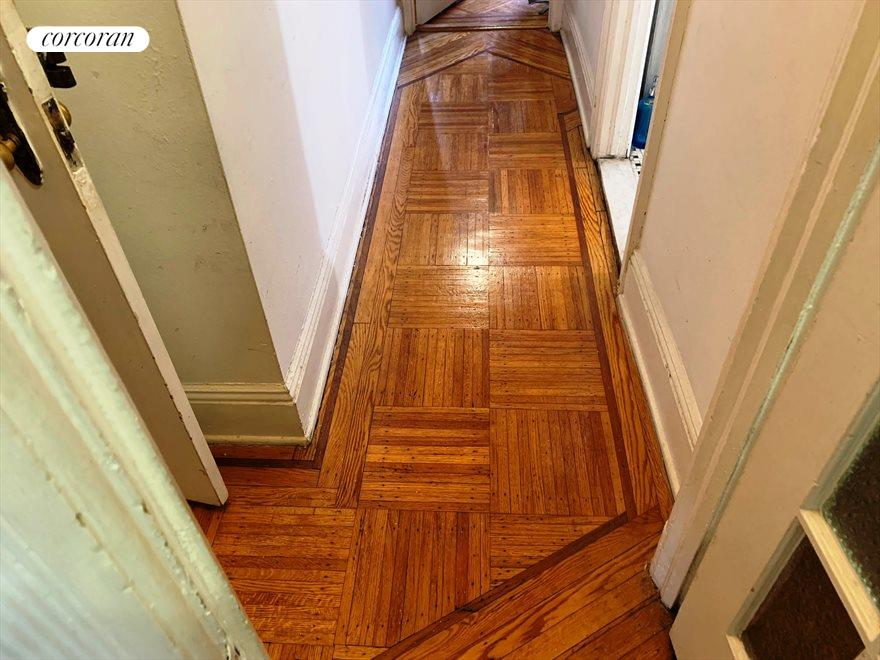Inlaid parquet floors