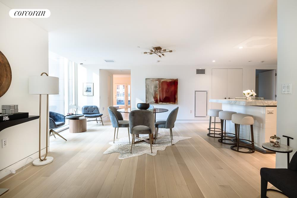 135 West 52nd Street, 8A, Living Room