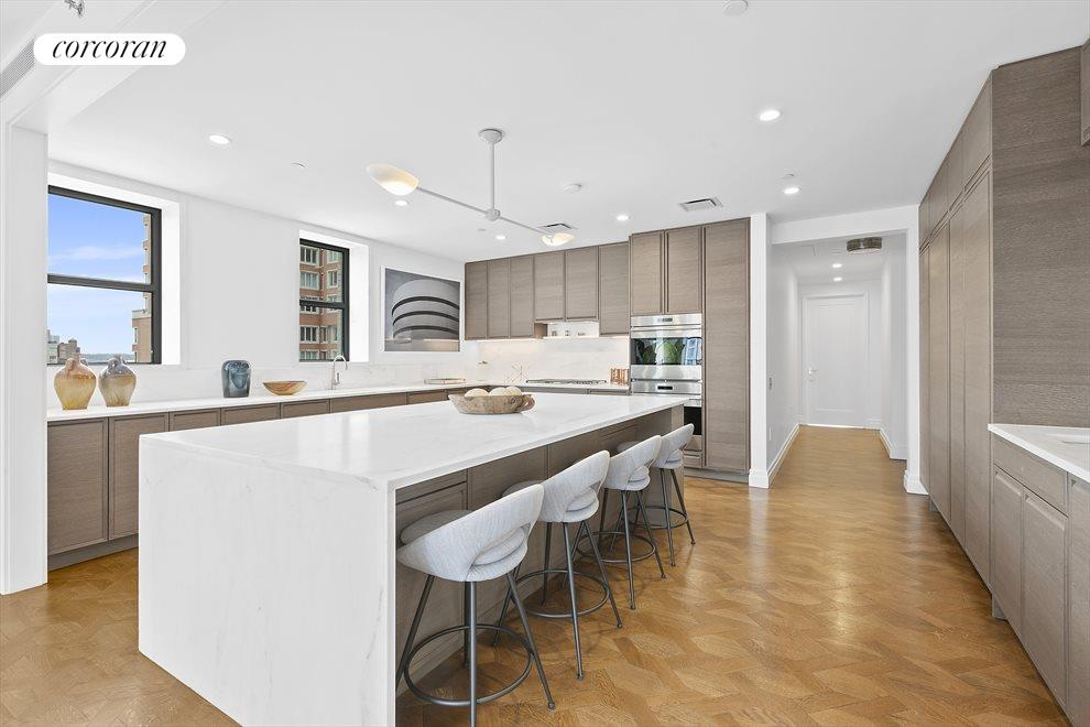 New York City Real Estate | View 207 West 79th Street, #12 | 19 ft windowed eat in kitchen wolf,subzero,miele