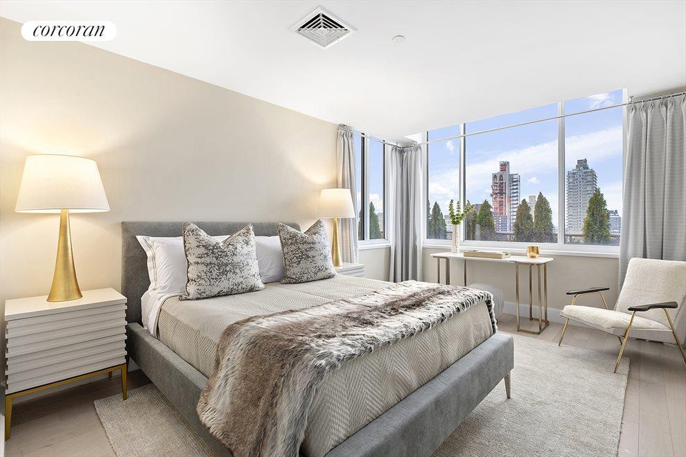 Light-filled second bedroom