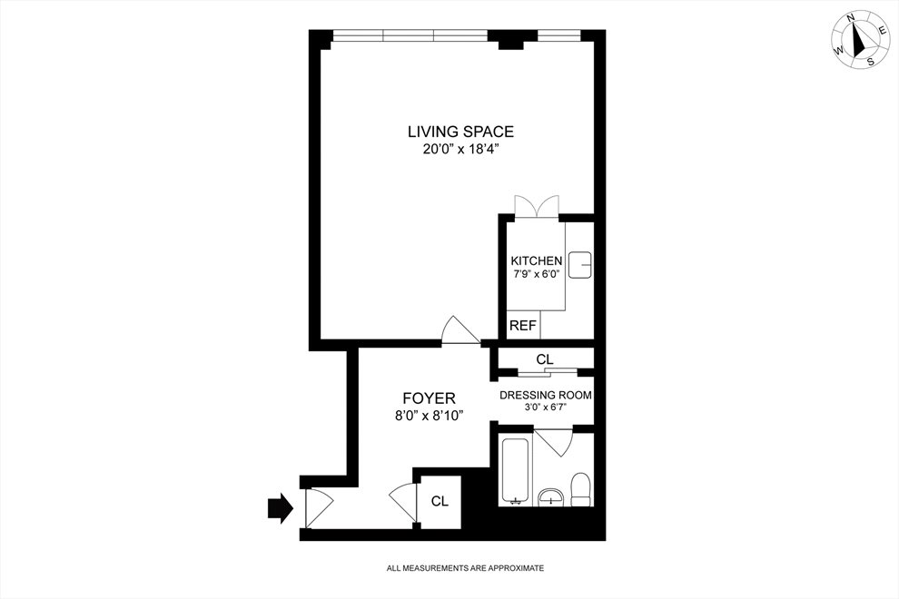 New York City Real Estate | View West 12th Street | Floorplan 1