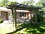 Sagaponack, Front approach with pergola