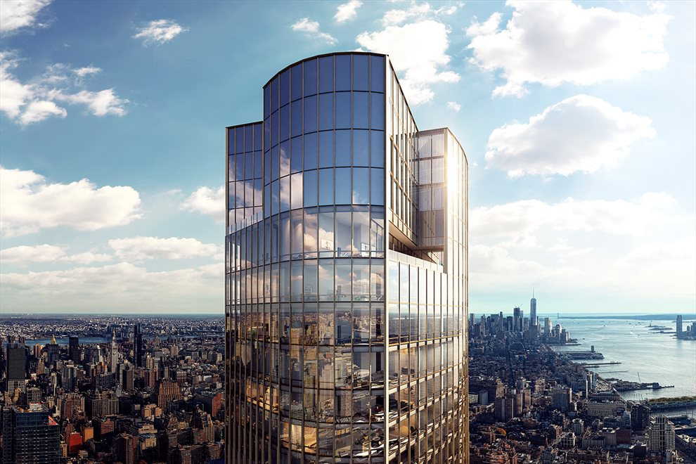 The penthouses at 35 Hudson Yards