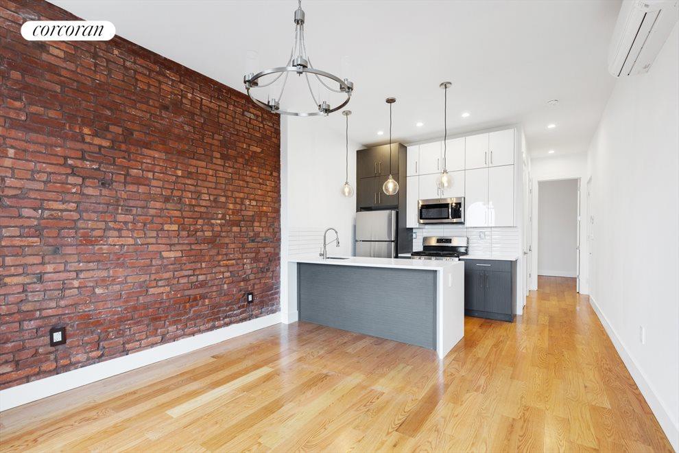 Open Kitchen & Living Concept