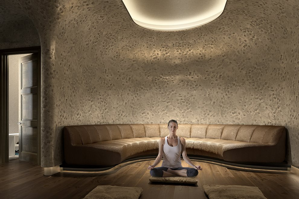 New York City Real Estate | View 35 HUDSON YARDS, #8603 | Meditation Room