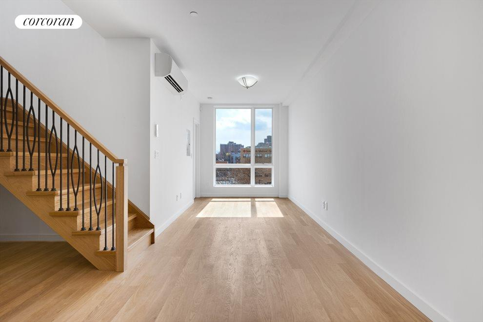 New York City Real Estate | View 511 Herkimer Street, #4B | South Facing Living Room