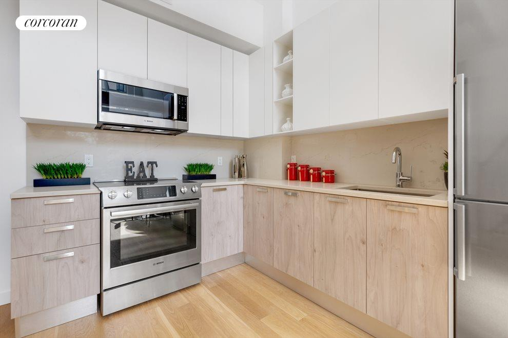 New York City Real Estate | View 511 Herkimer Street, #4B | Scavolini Kitchens w/ Bosch Appliances