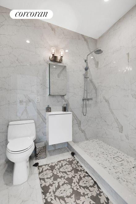 New York City Real Estate | View 511 Herkimer Street, #1A | Radiant Heated Bathrooms