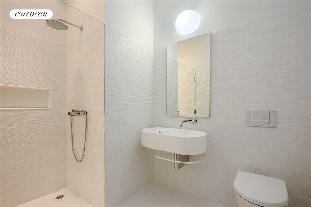 Renovated Bath with Shower