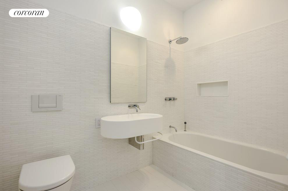Renovated Bath with Tub