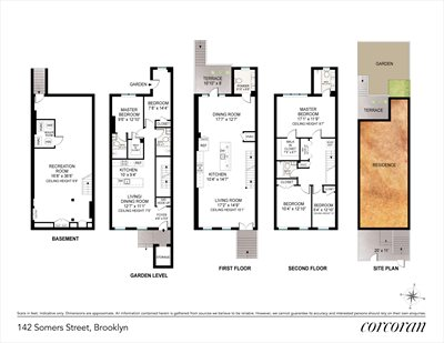 New York City Real Estate | View 142 Somers Street | Floorplan
