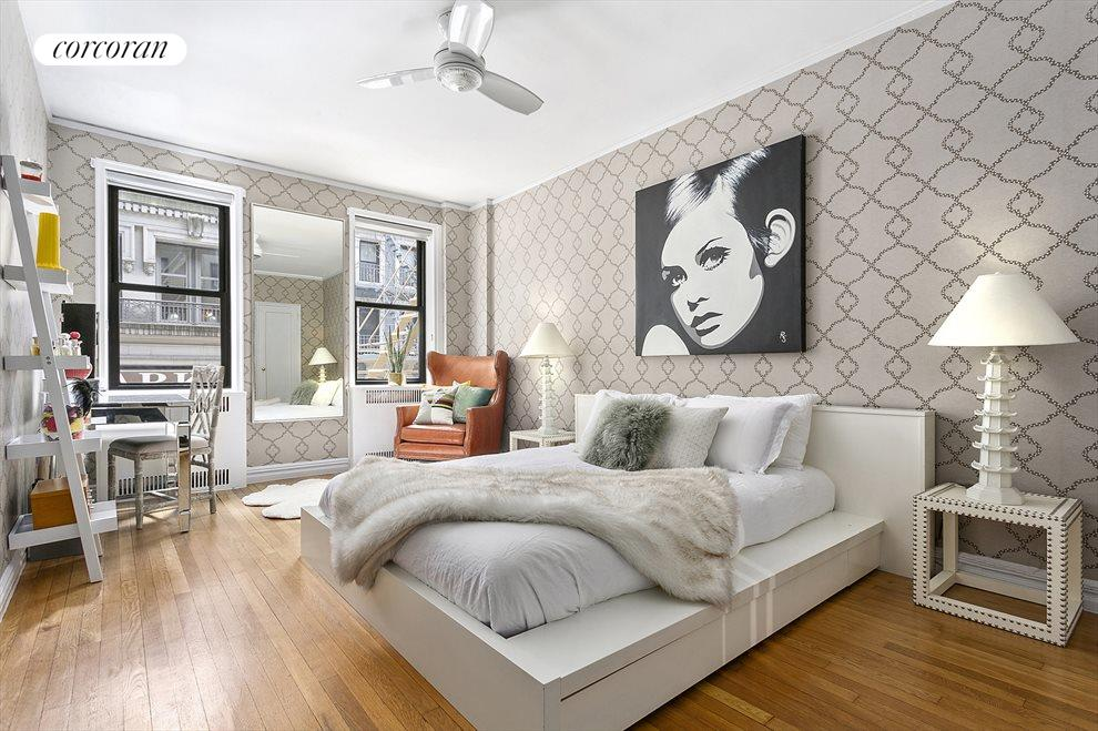 New York City Real Estate | View 225 West 25th Street, #2J | King-sized, South-facing Bedroom