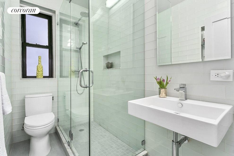 New York City Real Estate | View 225 West 25th Street, #2J | Immaculate, Renovated Bathroom