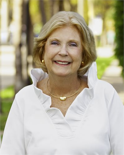 Rosemary Clemens, a top realtor in South Florida for Corcoran, a real estate firm in Palm Beach.