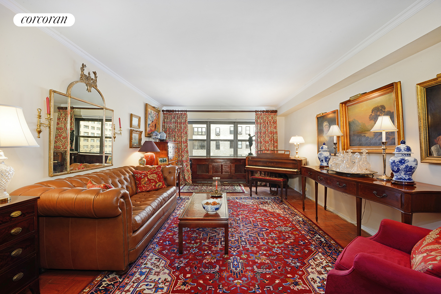 411 East 57th Street, 4G, Living Room