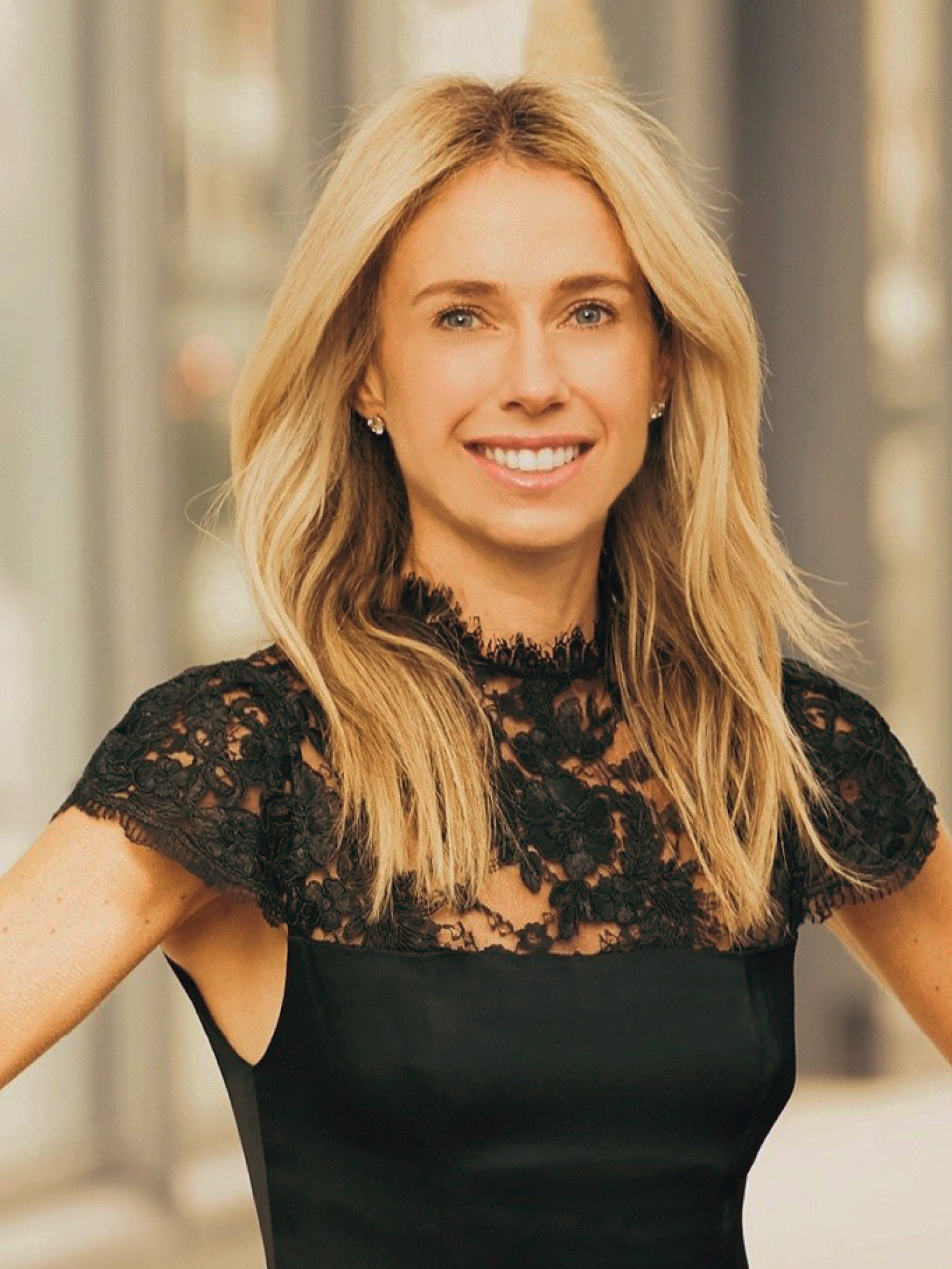 Amber Roberts, a top realtor in New York City for Corcoran, a real estate firm in Chelsea/Flatiron.