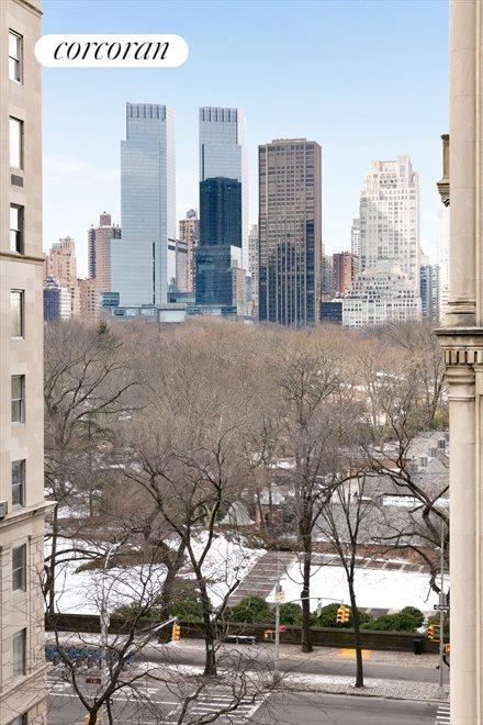 Central Park View from Bay Windows