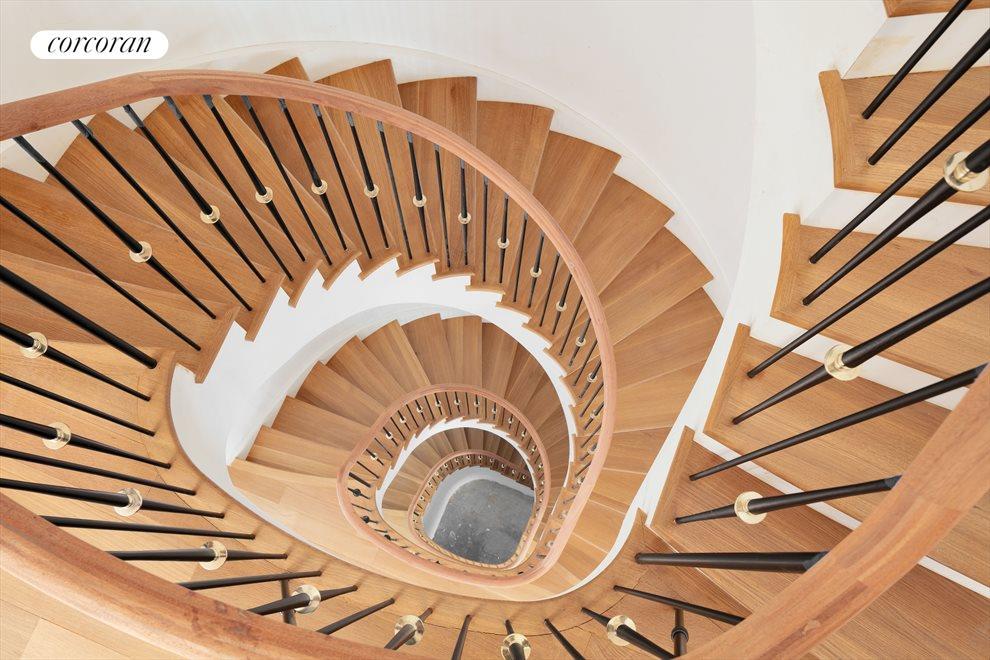 Main Elliptical Staircase