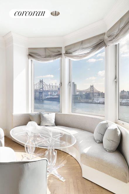 Bay Window with Open River Views