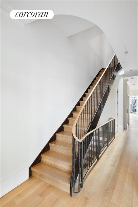 New York City Real Estate | View 135 East 15th Street | Custom Stairs with Oak Threads and Risers