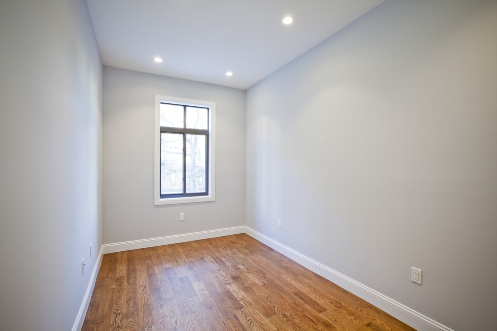 large bedroom with good closet space