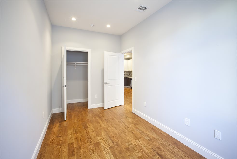 Bedroom with good closet space