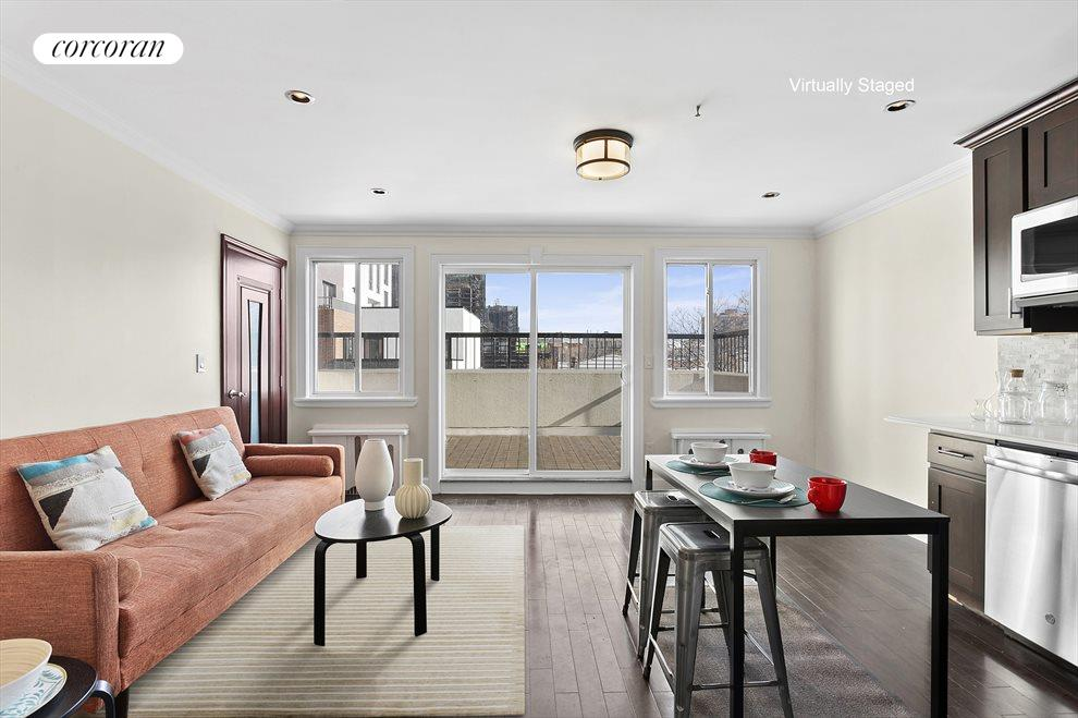 Living Room to Large Terrace