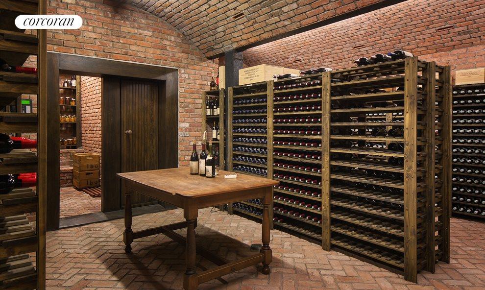 5000-bottle wine cellar + termp & humidity control