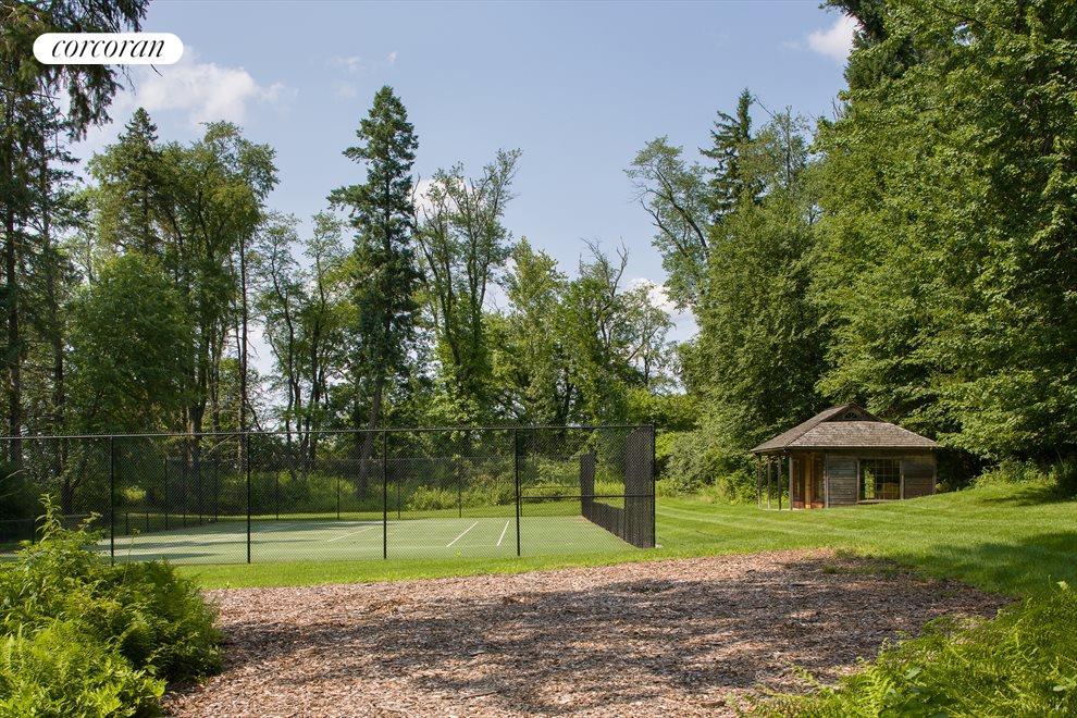 Tennis Court and Cabana