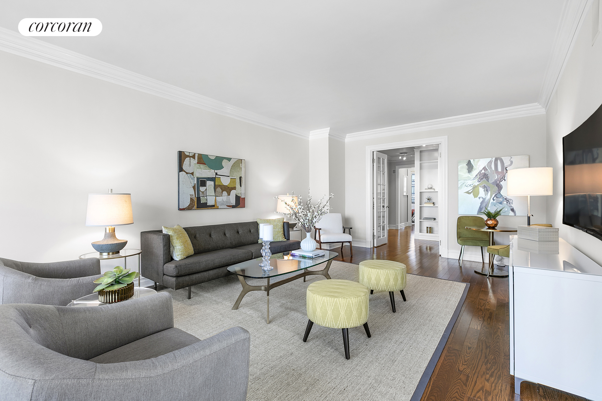 2 Columbus Avenue, 16A, Living Room